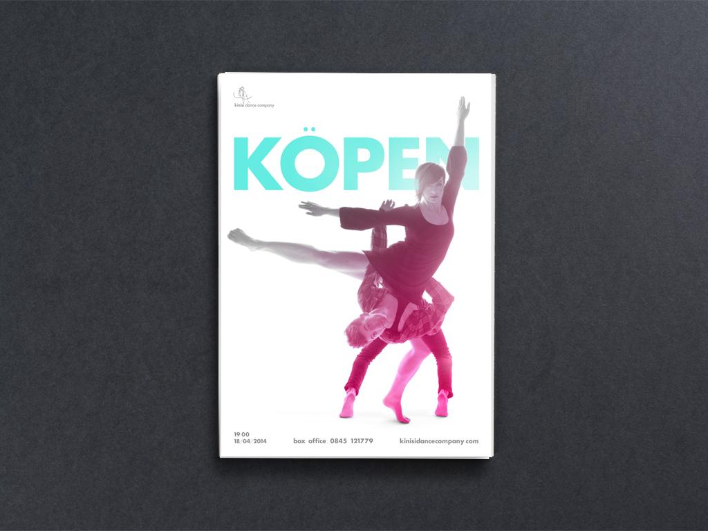 Kinisi Dance Company A1 Kopen Poster