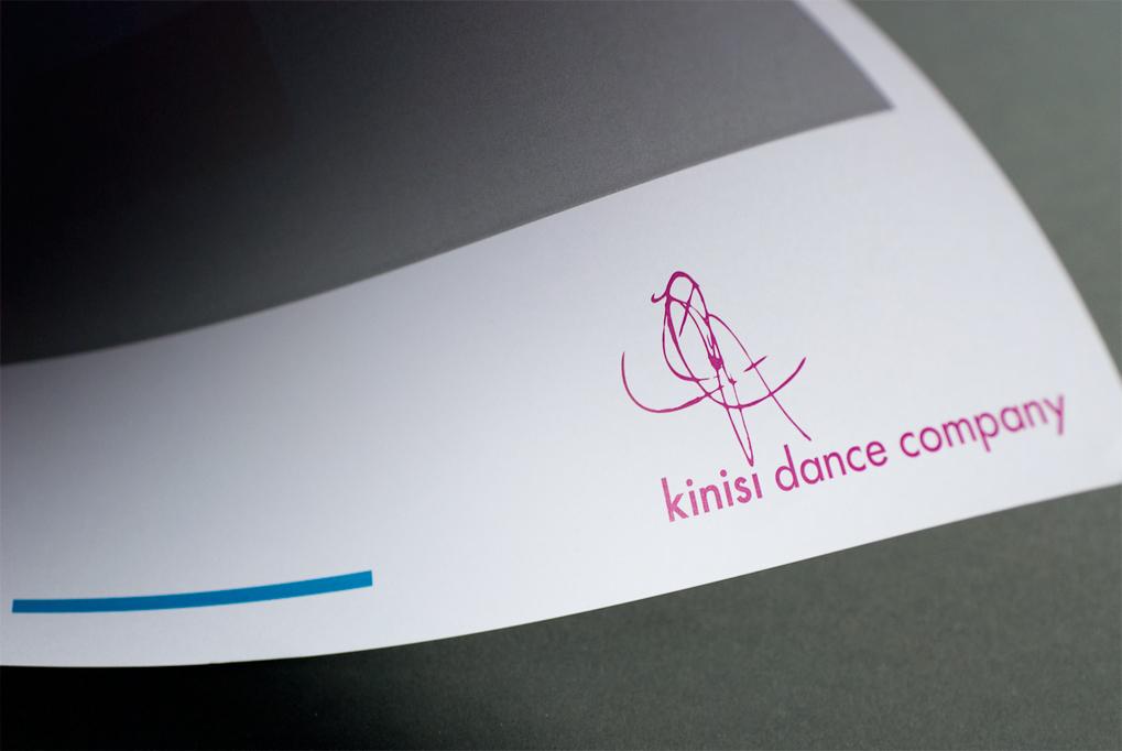 Kinisi Dance Company Logo Corner